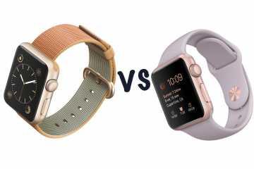 Инженеры сравнили две последние модели Apple Watch.