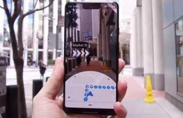 Google Maps Live View стали доступны для пользователей iPhone.