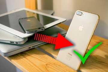 Как заменить iPhone на новый.