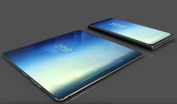 Складной смартфон от Samsung: девайс из будущего