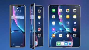 Apple продолжает вести работы над складными iPhone и iPad