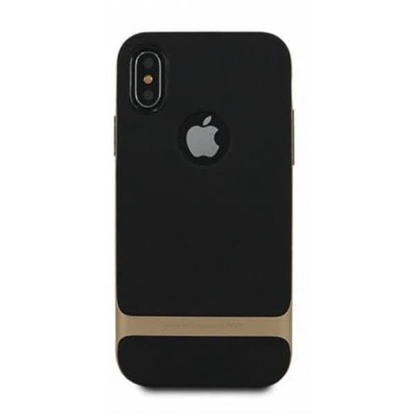 Чехол для Iphone X Rock Royce PC + силикон (Черный)