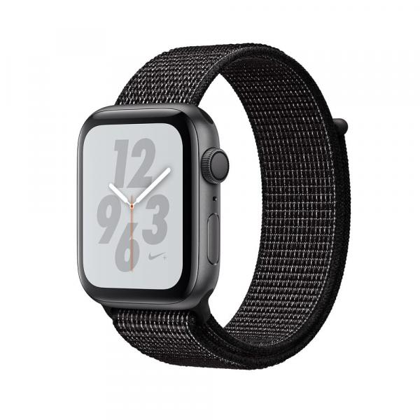 Apple Watch 44 mm Nike+ Space Gray Aluminum Case with Summit White Nike Sport Loop
