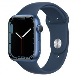 Apple Watch S7 45mm Blue Aluminum Case / Abyss Blue Sport Band