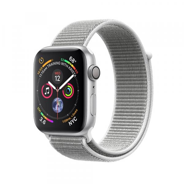 Apple Watch Silver  Series 4 40mm Aluminum Case with Seashell Sport Loop