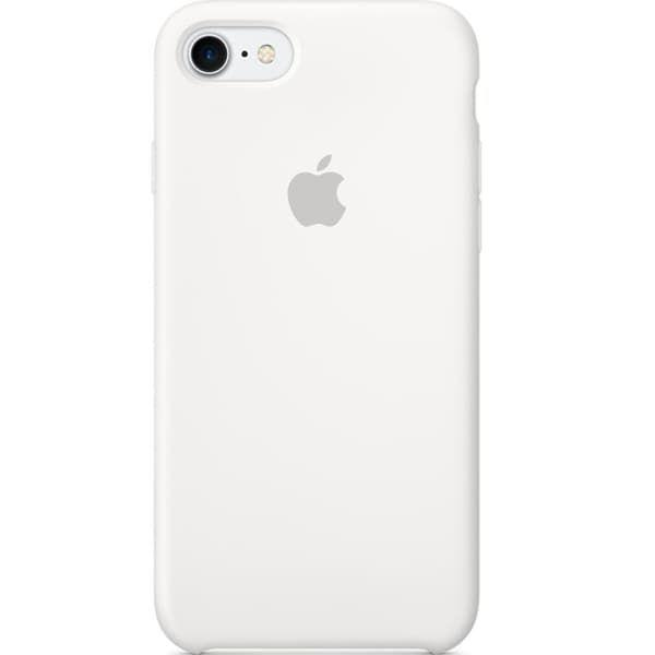 Silicon Case iPhone 7 (White)