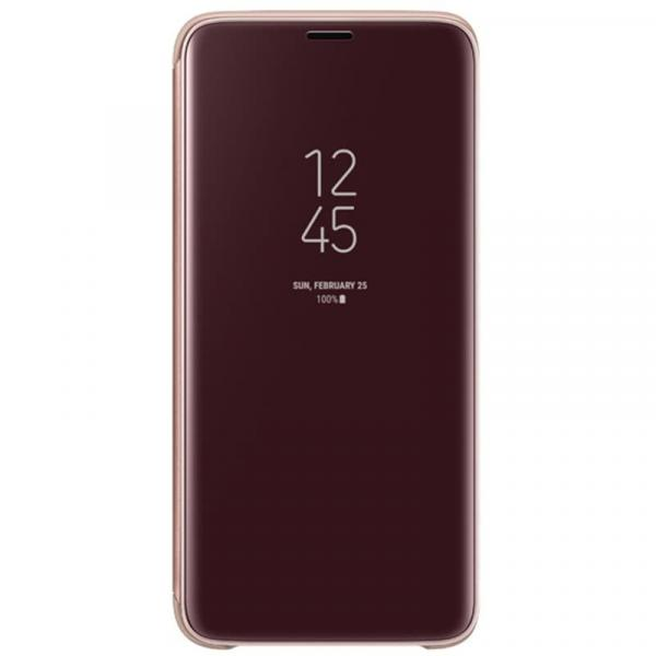 Чехол Samsung Clear View S.Cover для Samsung Galaxy S9, Gold