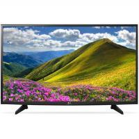 "Телевизор 43"" LG 43LJ510V черный 1920x1080, Full HD, 50 Гц, DVB-T2, DVB-C, DVB-S2, USB, HDMI"