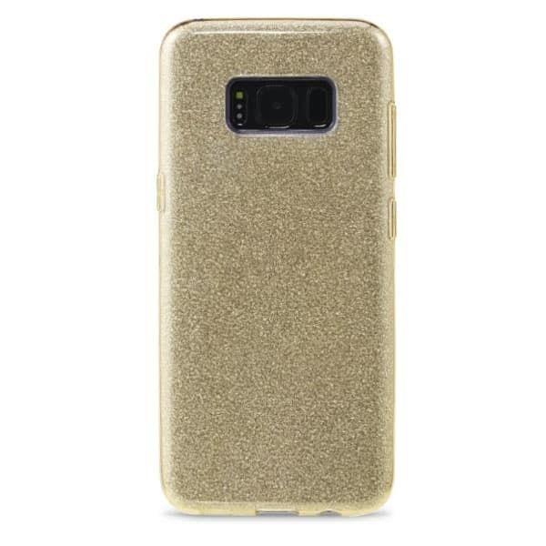 Чехол для Samsung s8 Remax Glitter Gold