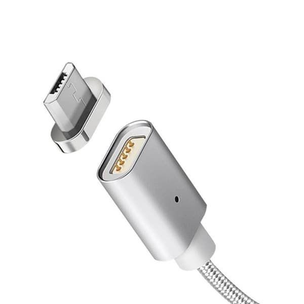 Кабель  USB Metal Magnetic micro USB 1m