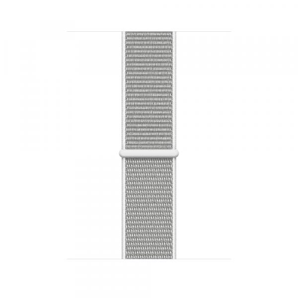 Apple Watch Silver  Series 4 44mm Aluminum Case with Seashell Sport Loop
