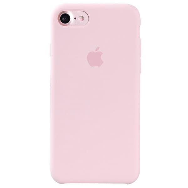 Silicon Case iPhone 7 (Pink)