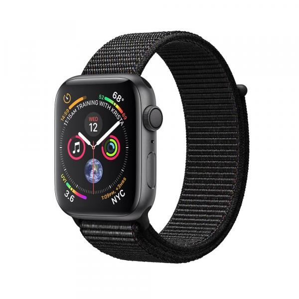 Apple Watch Space Gray Series 4 40mm Aluminum Case with Black Sport Loop