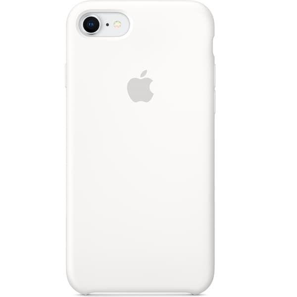 Silicon Case iPhone 7 (Silver)