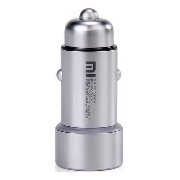 Автомобильное ЗУ Xiaomi charge for car, серебро