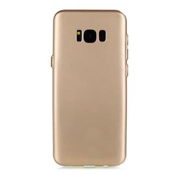 Чехол для Samsung S8 X-level Knight series (силикон золото)
