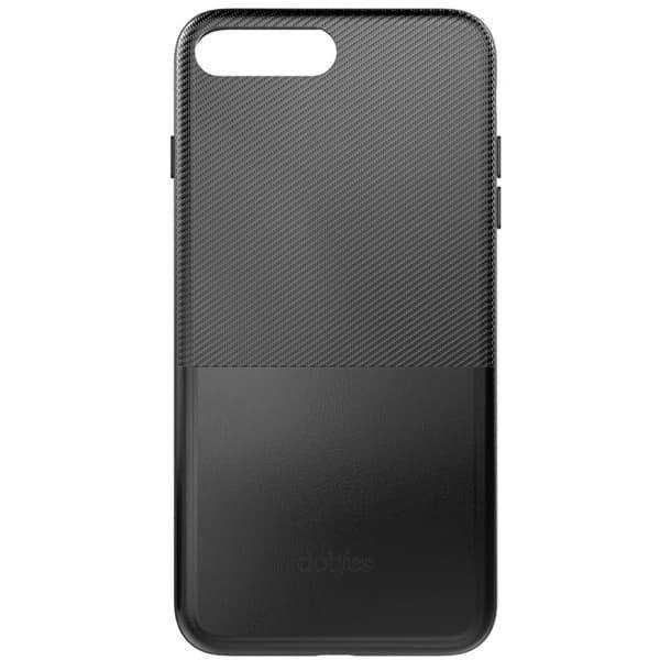 Чехол бампер кожанный Dotfes для iPhone 7/8 (Black)