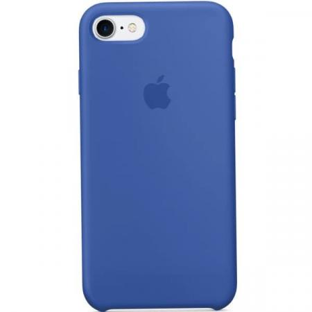Silicon Case iPhone 7 (Blue)