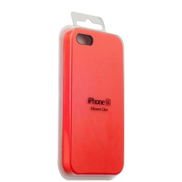 Silicon Case iPhone 5/5s/5SE (Red)