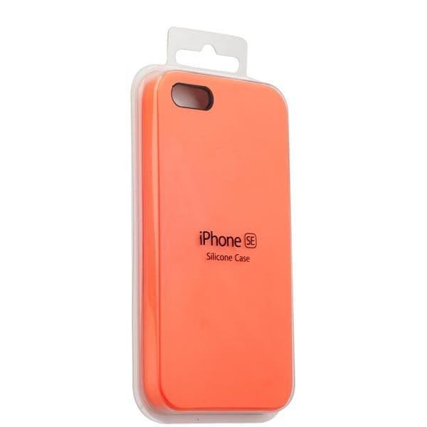 Silicon Case iPhone 5/5s/5SE (Orage)