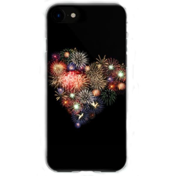 Накладка силиконовая Fashion  iPhone 7 (в ассортименте)