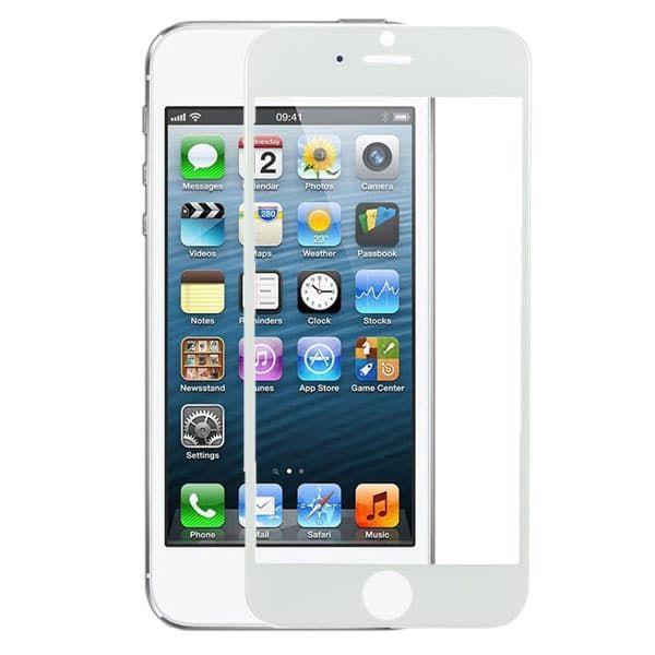 Защитное стекло Apple iPhone 5/5S/5SE (White)