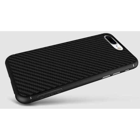 Накладка силиконовая Nillkin Syntetic Fiber iPhone 7 plus Black