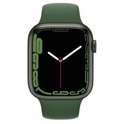 Apple Watch S7 45mm Green Aluminum Case / Clover Sport Band