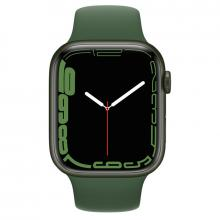 Apple Watch S7 41mm Green Aluminum Case / Clover Sport Band