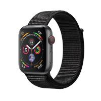 Apple Watch Space Gray Series 4 40mm GPS+Cellular Aluminum Case with Black Sport Loop