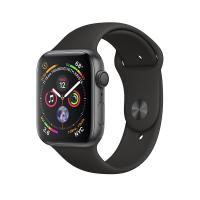 Apple Watch Space Gray Series 4 44 mm  Aluminum Case with Black Sport Band