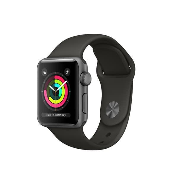 Apple Watch Series 3 42mm GPS Space Gray Aluminum Case with Black Sport Band