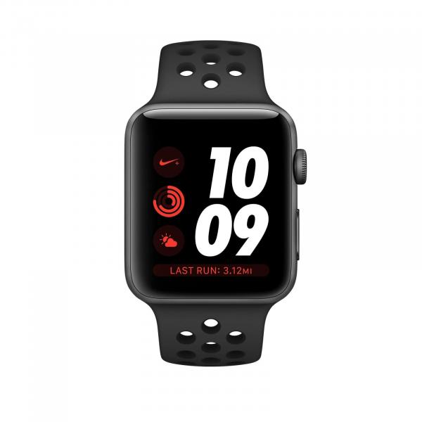 Apple Watch Series 3 Nike+ 38mm GPS Space Gray Aluminum Case with Anthracite/Black Nike Sport Band