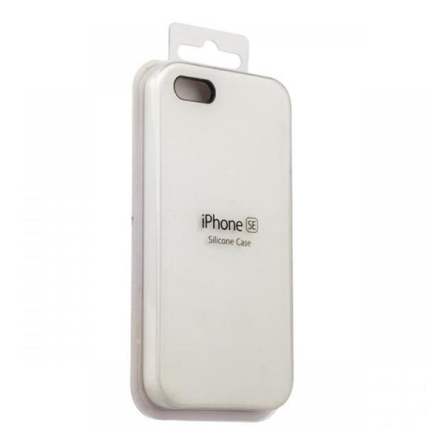 Silicon Case iPhone 5/5s/5SE (White)