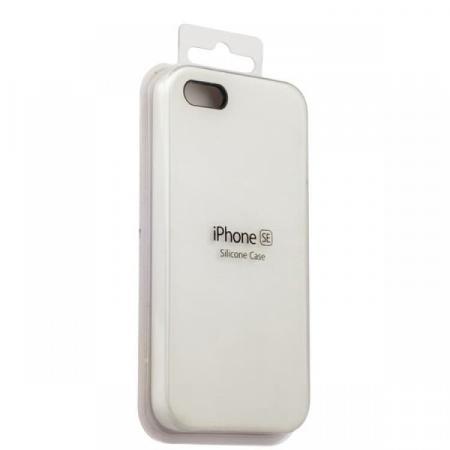 Silicon Case iPhone 5/5s/5SE (Silver)