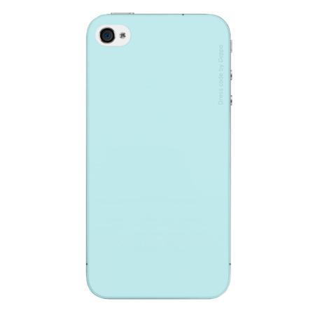 Чехол бампер силиконовый Deppa Sky Case для iPhone 5/5S/5SE (Blue Light)