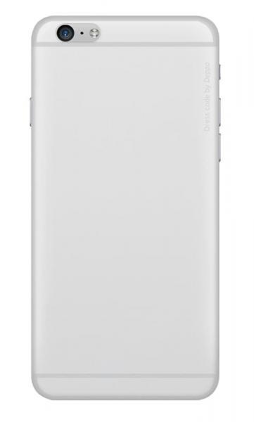 Чехол бампер силиконовый Deppa Sky Case для iPhone 6/6S (White)