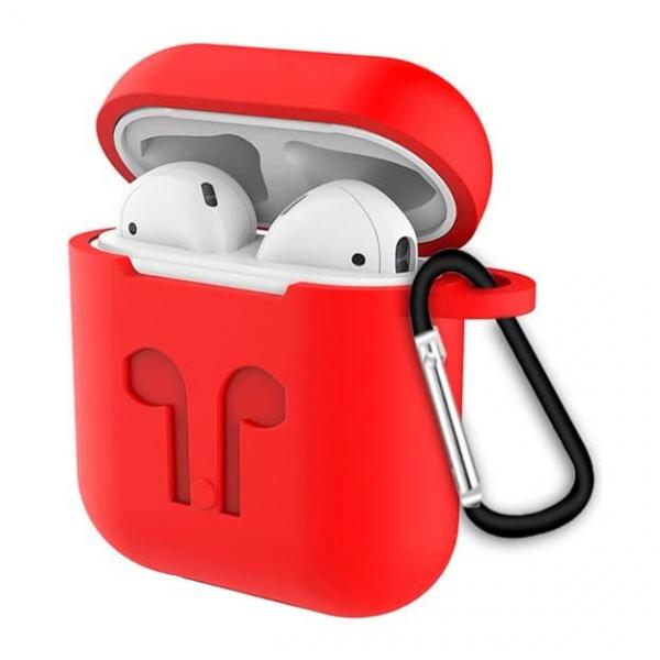 Чехол для AirPods  (красный)
