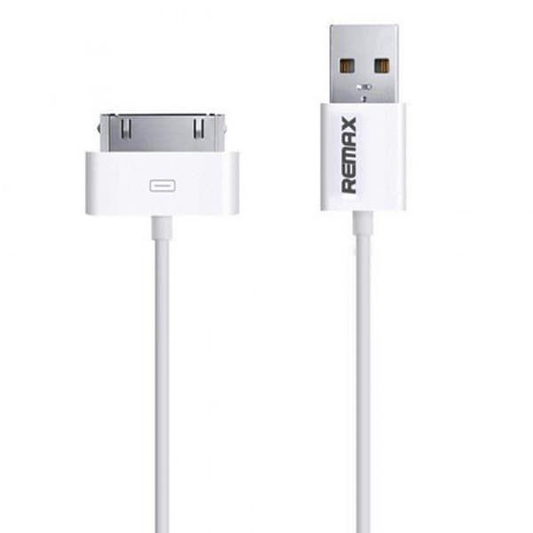 USB кабель Remax iPhone 4/4s (White)