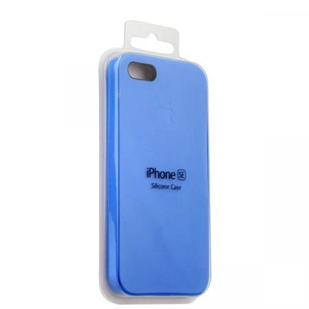 Silicon Case iPhone 5/5s/5SE (Blue)