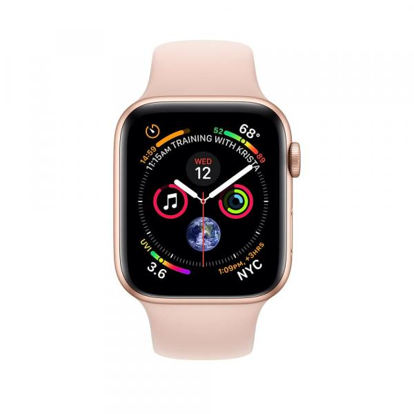 Apple Watch Gold Series 4 40mm Aluminum Case with Pink Sand Sport Band