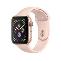 Apple Watch Gold Series 4 44mm GPS+Cellular Aluminum Case with Pink Sand Sport Band