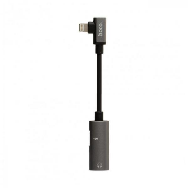 Адаптер Hoco LS18 dual lightning