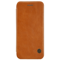 Чехол книжка кожа Nillkin Elegant Leather для iPhone 7/8 (Brown)