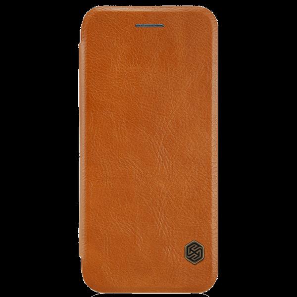 Чехол книжка кожа Nillkin Elegant Leather для iPhone 7/8 (Brown)