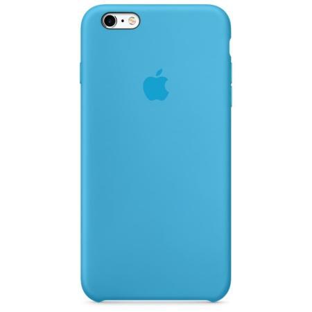 Силиконовый чехол для iPhone 6/6s, (голубой)