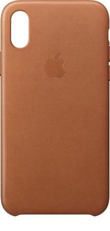 Чехол для iPhone X под кожу , цвет (Gold)