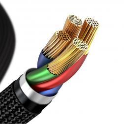 Кабель Baseus Horizontal Data Cable Type-C to iP PD 18W 1М