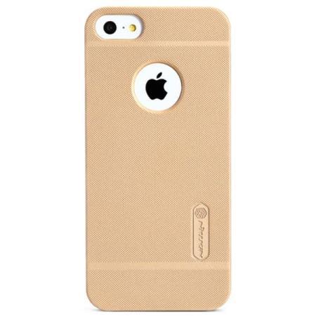 Чехол бампер пластиковый Nillkin для iPhone 5/5S/5SE (Gold)