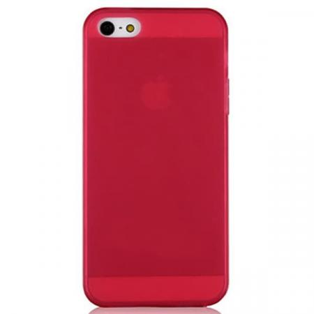 Чехол бампер силиконовый Baseus для iPhone 5/5S/5SE (Red)